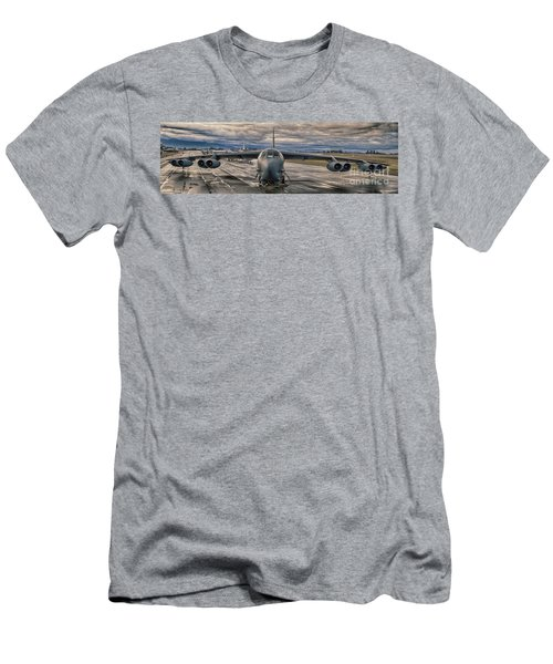 B-52 Men's T-Shirt (Slim Fit) by Jim  Hatch