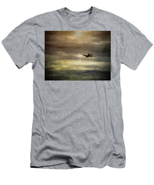 B24 In Flight Men's T-Shirt (Athletic Fit)