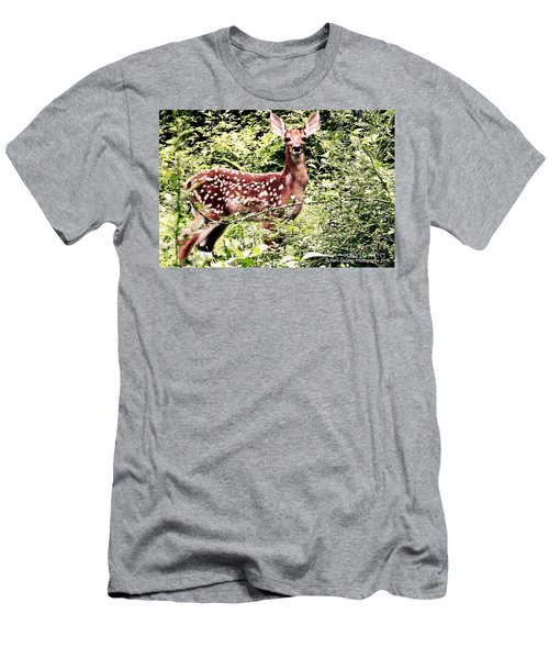Babe In The Woods Men's T-Shirt (Athletic Fit)