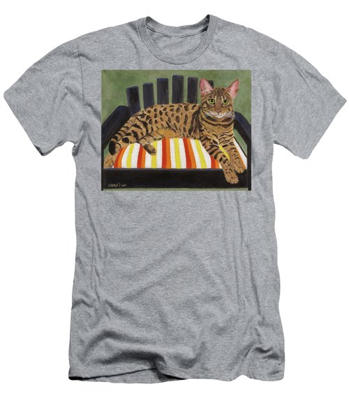 Men's T-Shirt (Athletic Fit) featuring the painting Babou by Jamie Frier