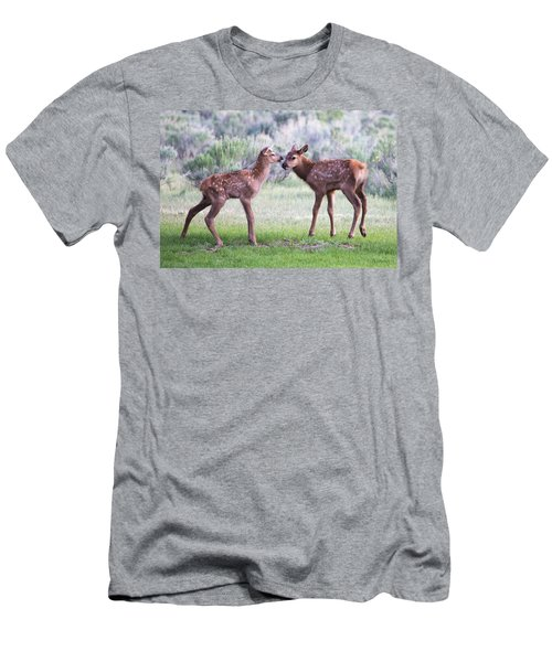 Baby Elk Men's T-Shirt (Athletic Fit)