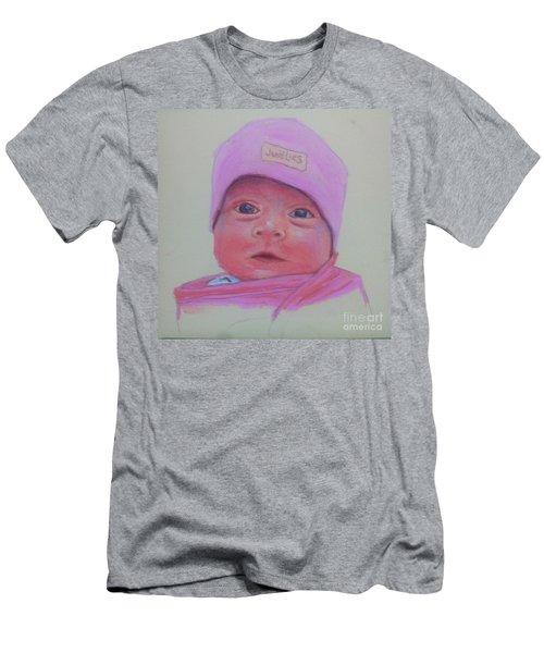 Baby Lennox Men's T-Shirt (Slim Fit) by Rae  Smith PAC