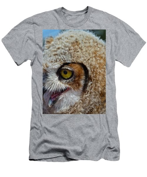 Baby Owl Men's T-Shirt (Athletic Fit)