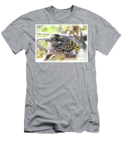 Baby Roadrunner  Men's T-Shirt (Slim Fit) by Saija Lehtonen