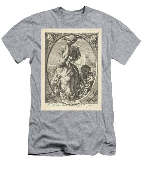 Bacchus God Of Ectasy Men's T-Shirt (Athletic Fit)