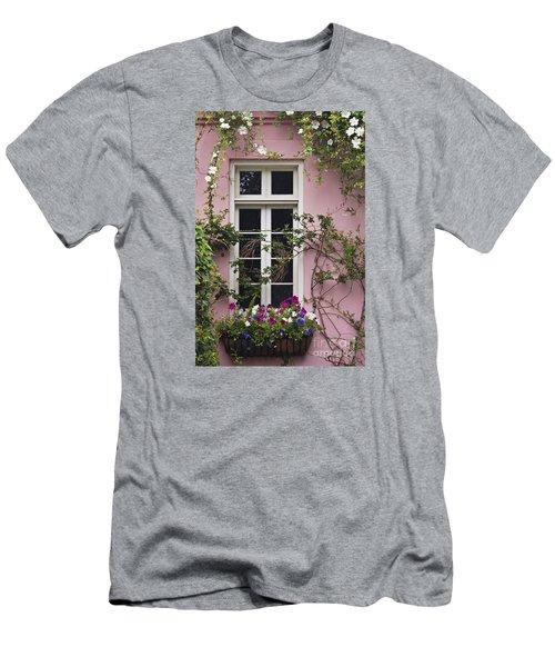 Back Alley Window Box - D001793 Men's T-Shirt (Athletic Fit)