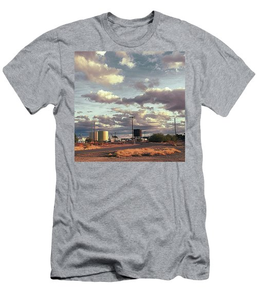Back Side Of Water Tower, Arizona. Men's T-Shirt (Athletic Fit)