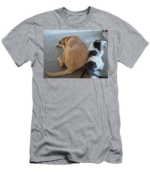 Back To Back Men's T-Shirt (Athletic Fit)
