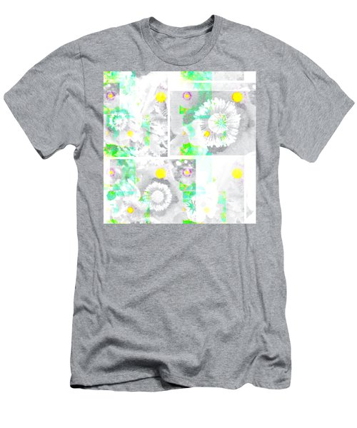 Colour Choice Poppy Collage Men's T-Shirt (Athletic Fit)