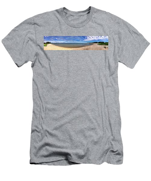 Backwater Bay Pano Men's T-Shirt (Athletic Fit)