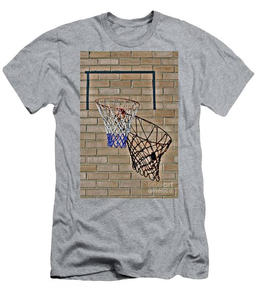 Backyard Basketball Men's T-Shirt (Athletic Fit)
