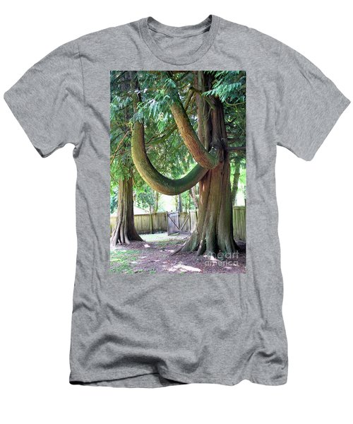 Backyard Cedar Men's T-Shirt (Athletic Fit)
