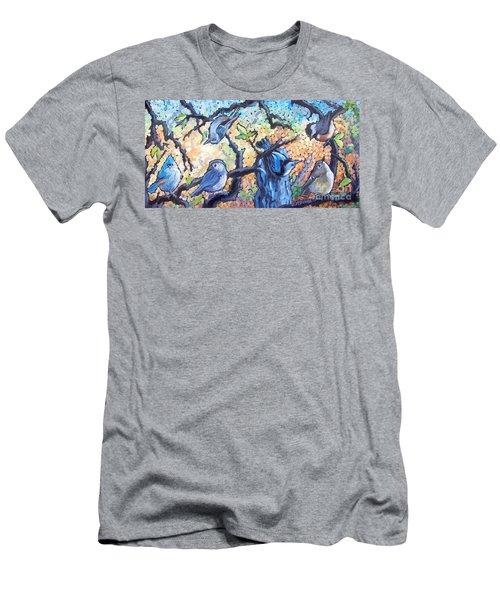 Backyard Gang Men's T-Shirt (Athletic Fit)