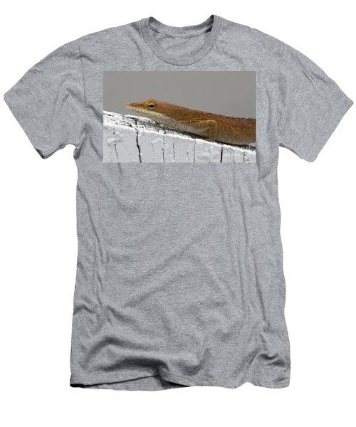 Backyard Visitor Men's T-Shirt (Athletic Fit)