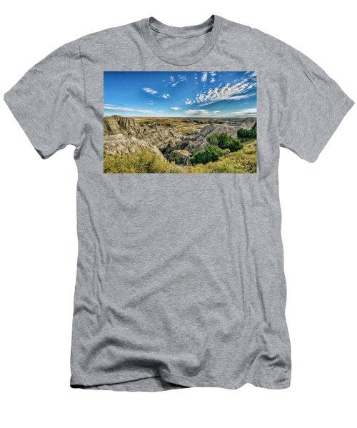 Bad Lands South Dakota.... Men's T-Shirt (Athletic Fit)