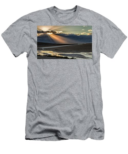 Bad Water Basin Death Valley National Park Men's T-Shirt (Athletic Fit)