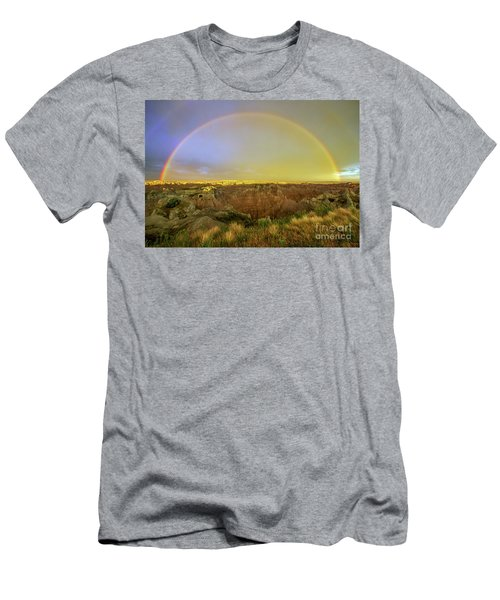 Badlands Rainbow Promise Men's T-Shirt (Athletic Fit)