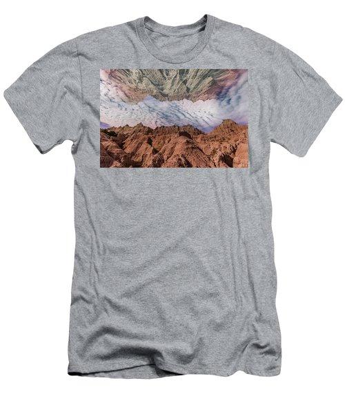 Badlands Reflection.... Men's T-Shirt (Athletic Fit)