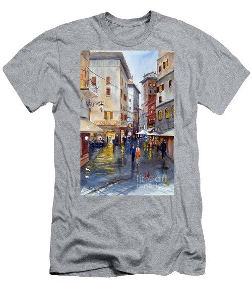 Baffettos Rome Men's T-Shirt (Athletic Fit)