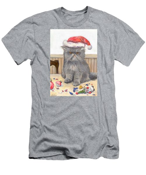Bah Humbug Men's T-Shirt (Slim Fit) by Donna Tucker