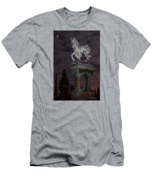 Baker Horse Under The Full Moon Men's T-Shirt (Slim Fit) by Stephen  Johnson