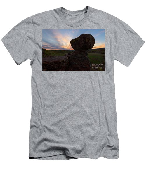 Men's T-Shirt (Slim Fit) featuring the photograph Balanced by Mike Dawson