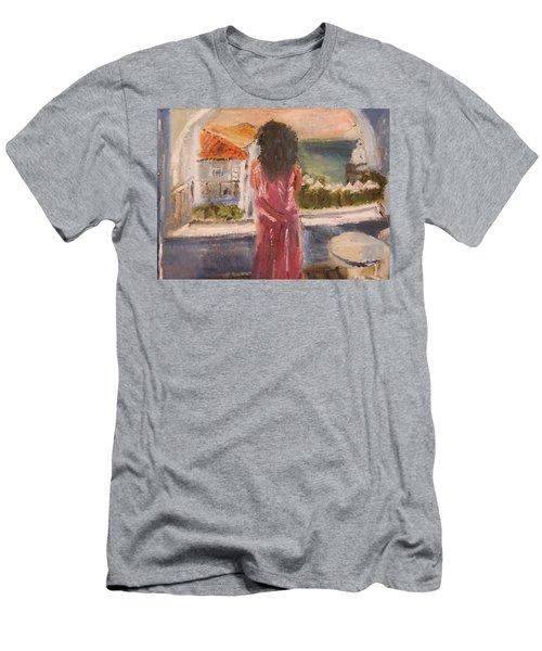 Balcony View Men's T-Shirt (Athletic Fit)