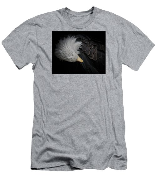 Bald Eagle Cleaning Men's T-Shirt (Athletic Fit)