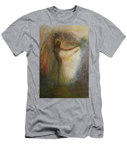 Ballet Dancer's Silhouette Men's T-Shirt (Athletic Fit)
