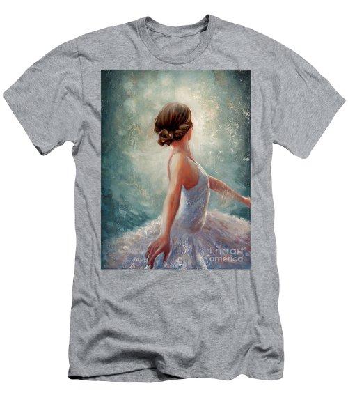 Ballerina Dazzle Men's T-Shirt (Athletic Fit)
