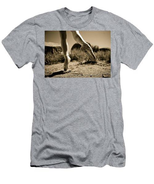 Ballet Pointe Men's T-Shirt (Athletic Fit)