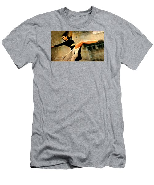 Ballet Windows Men's T-Shirt (Slim Fit) by Diana Angstadt