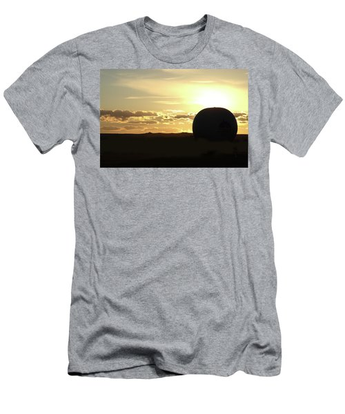 Men's T-Shirt (Slim Fit) featuring the photograph Balloonrise by Marie Leslie