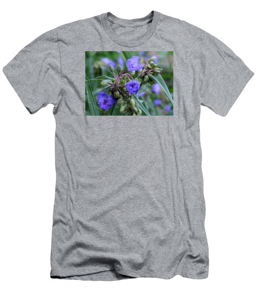 Men's T-Shirt (Slim Fit) featuring the photograph Balmy Blue by Michiale Schneider