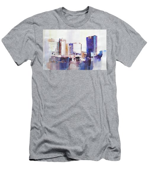 Baltimore Plaza Men's T-Shirt (Athletic Fit)