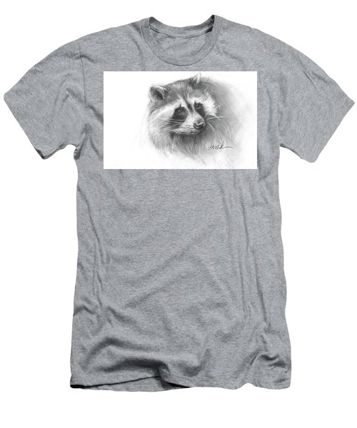 Bandit The Raccoon Men's T-Shirt (Athletic Fit)