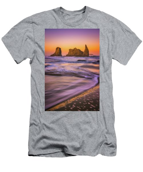 Men's T-Shirt (Slim Fit) featuring the photograph Bandon's Breath by Darren White