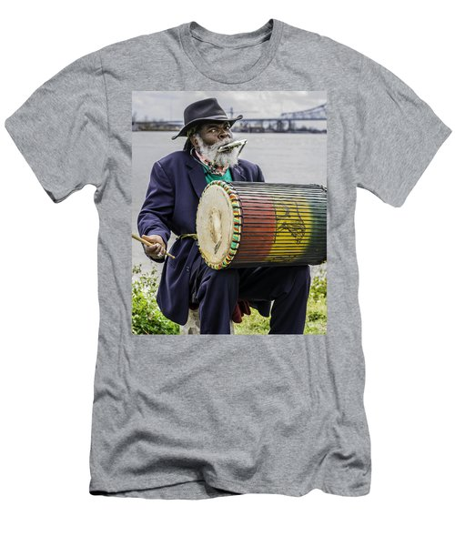 Bang That Drum Men's T-Shirt (Athletic Fit)