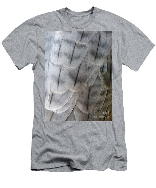 Barbary Falcon Feathers Men's T-Shirt (Athletic Fit)