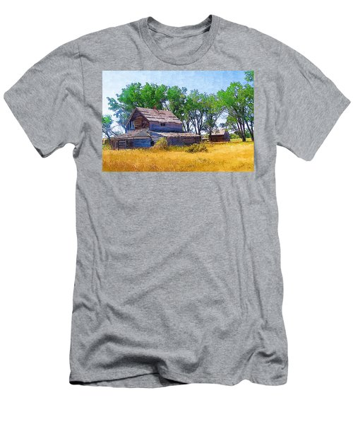 Barber Homestead Men's T-Shirt (Athletic Fit)