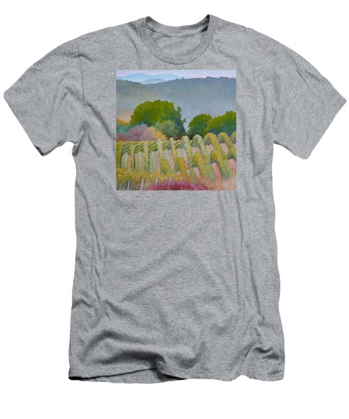 Barboursville Vineyards 1 Men's T-Shirt (Slim Fit) by Catherine Twomey