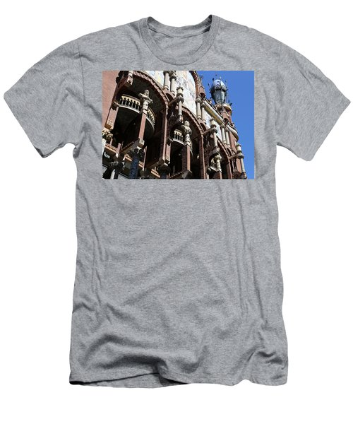 Men's T-Shirt (Slim Fit) featuring the photograph Barcelona 4 by Andrew Fare