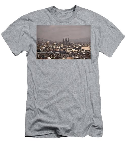 Barcelona Men's T-Shirt (Athletic Fit)