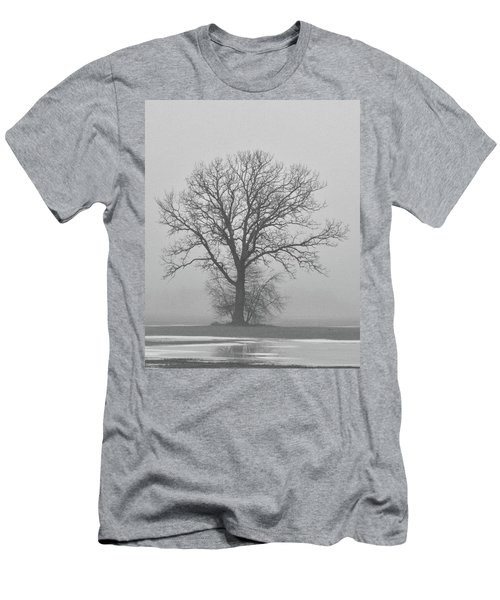 Bare Tree In Fog Men's T-Shirt (Athletic Fit)