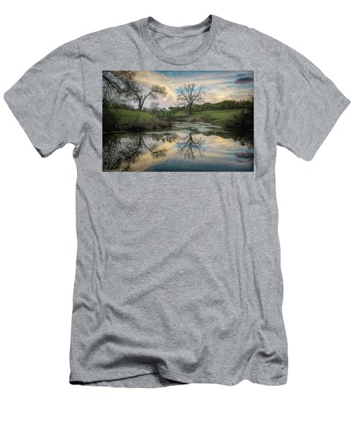 Bare Tree Reflections Men's T-Shirt (Athletic Fit)