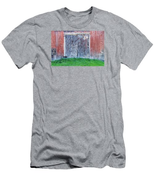 Barn Door Men's T-Shirt (Slim Fit) by Tom Singleton