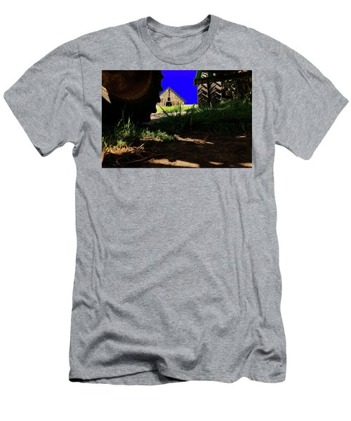 Barn From Under The Equipment Men's T-Shirt (Athletic Fit)