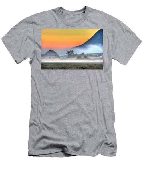 Barn Of Brigadoon Men's T-Shirt (Athletic Fit)