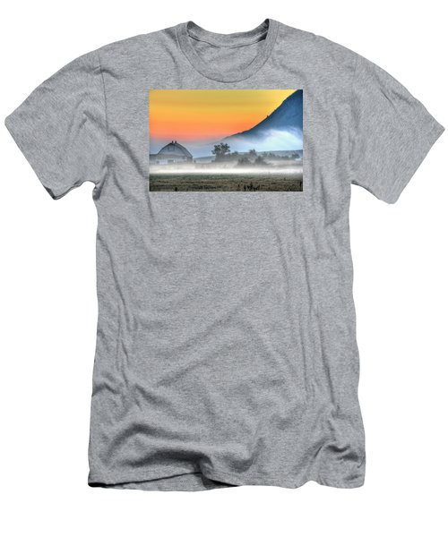 Barn Of Brigadoon Men's T-Shirt (Athletic Fit)