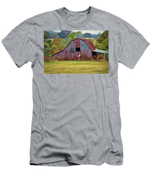 Barn On White Oak Road 2 Men's T-Shirt (Athletic Fit)